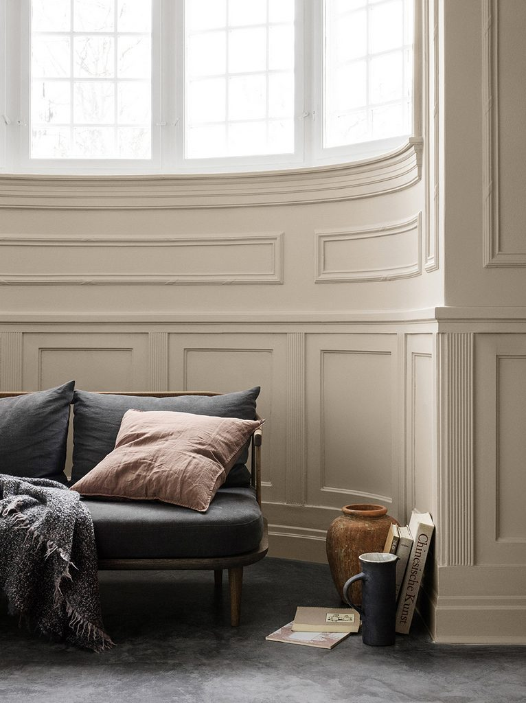 le mur beige un classique qui fait son grand retour joli place. Black Bedroom Furniture Sets. Home Design Ideas