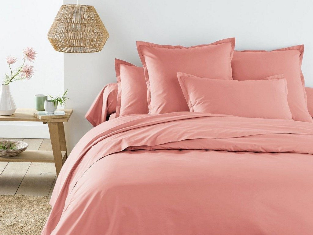 chambre rose blush