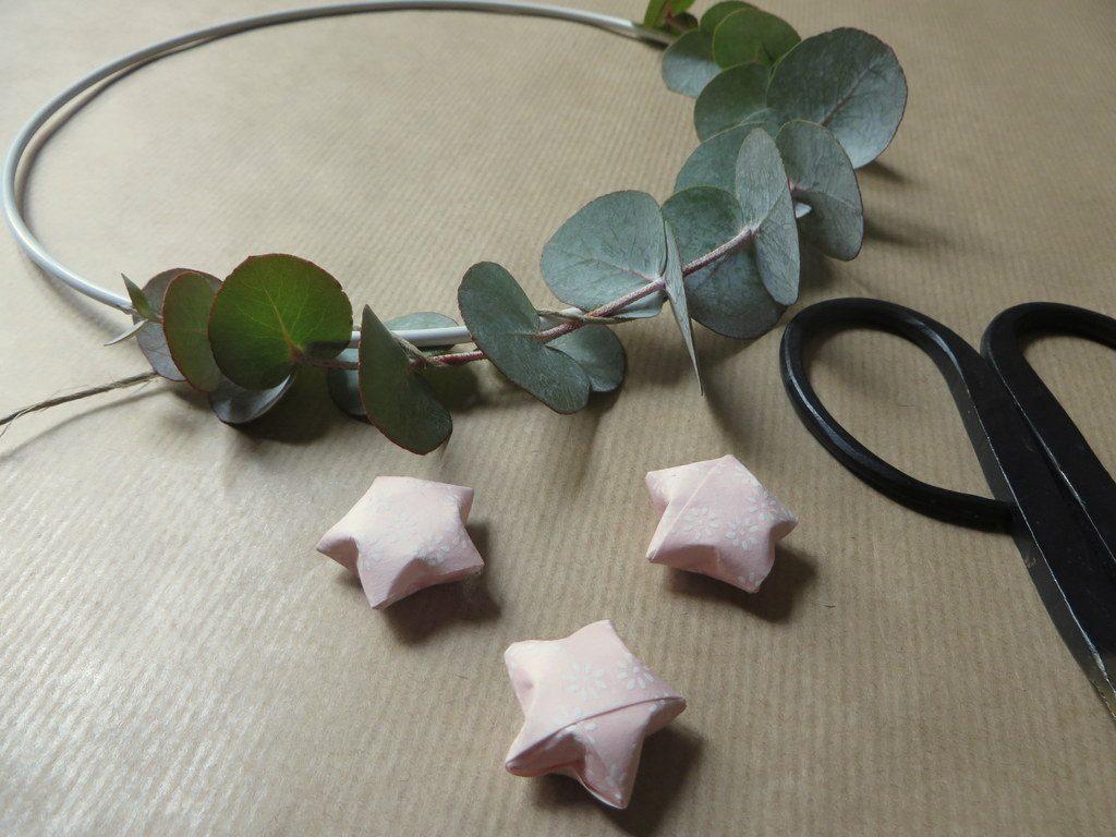 couronne en eucalyptus