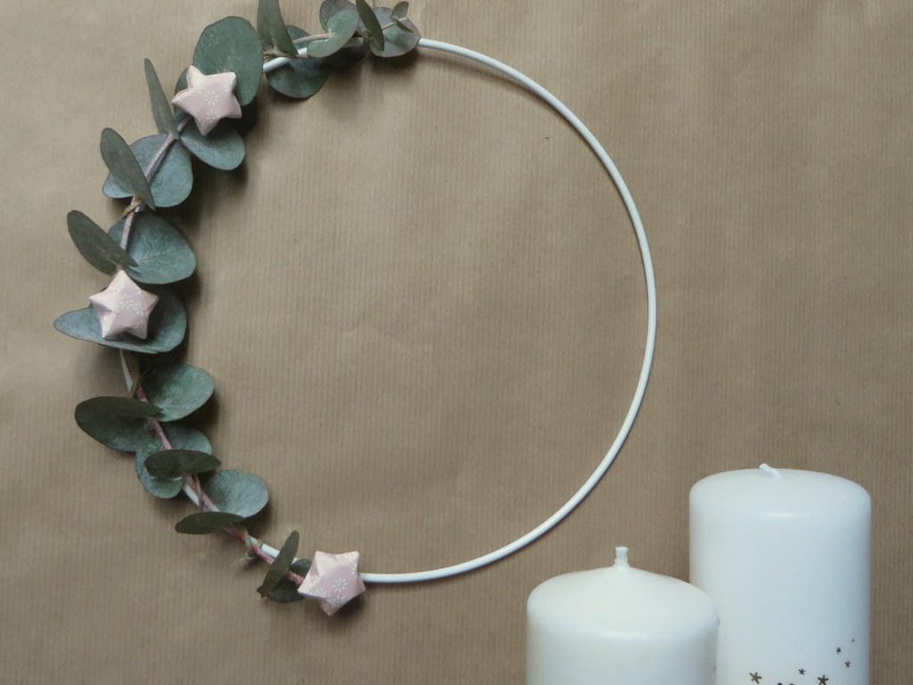 Couronne De Noel Facile À Faire comment fabriquer une couronne d'eucalyptus - joli place