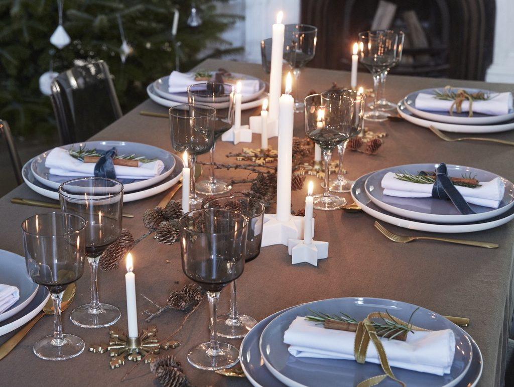 5 id es pour d corer la table de no l joli place - Idee table de noel ...