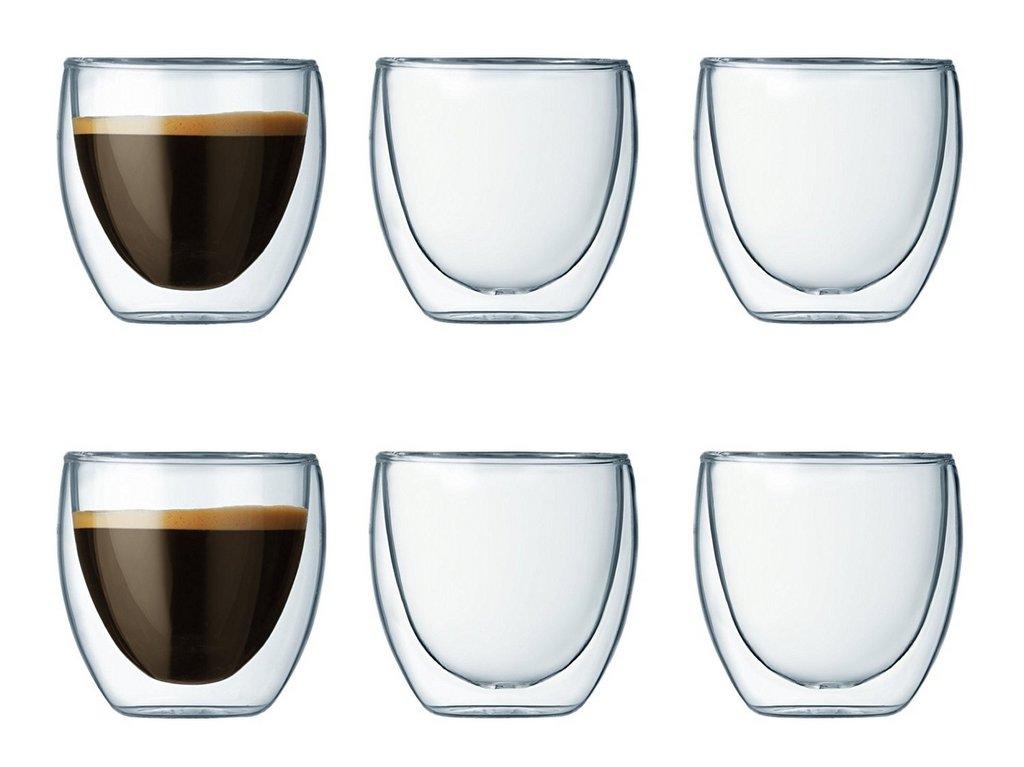 tasse à café transparente