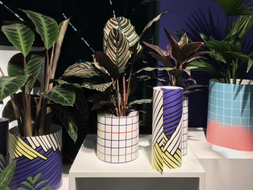 décoration personnalisable cache pot