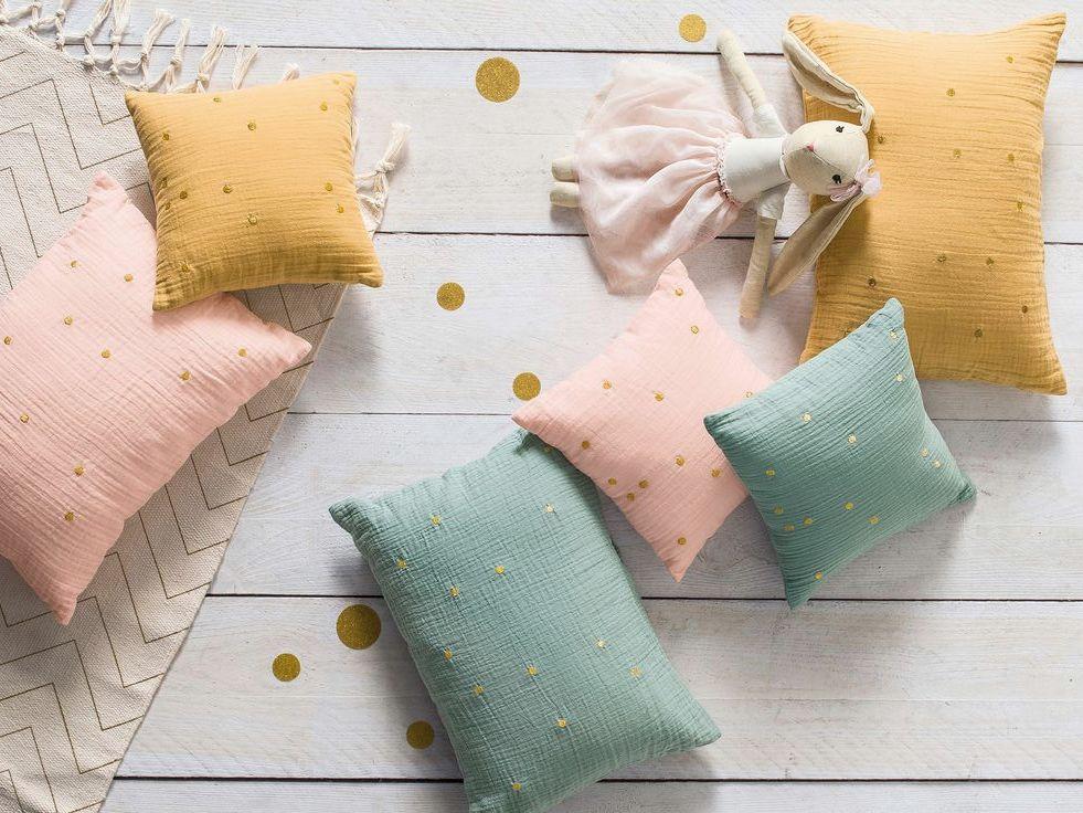 linge de lit enfant coton gaufré