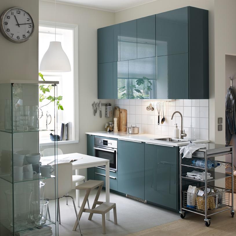 Inspirations déco pour une cuisine bleue - Joli Place