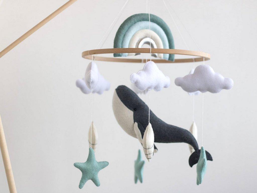 déco baleine chambre bébé