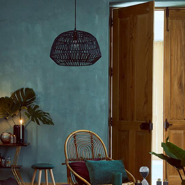 inspirations pour une d co bleu paon joli place. Black Bedroom Furniture Sets. Home Design Ideas
