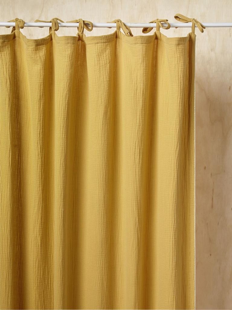 rideau enfant coton gaufré