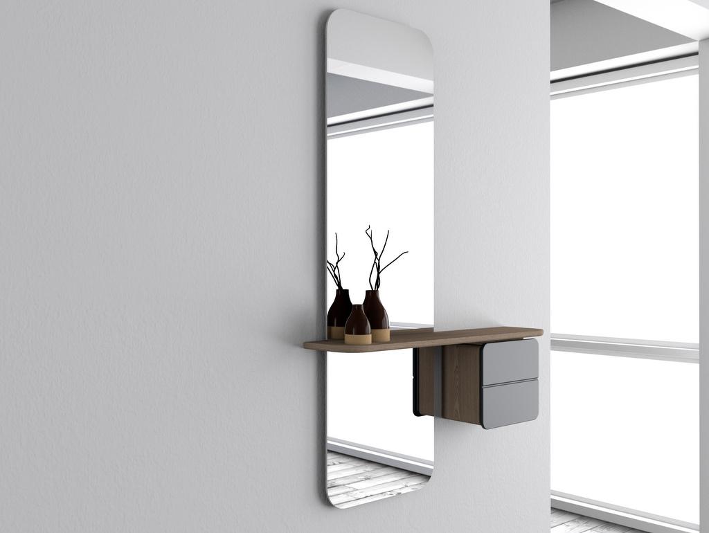 miroir meuble entrée