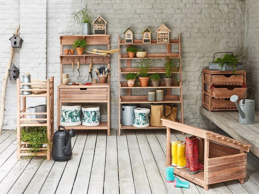 étagère de jardin