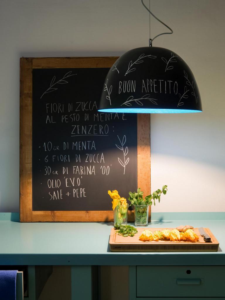 L Esprit Tableau Noir En Ardoise Dans La Cuisine Joli Place