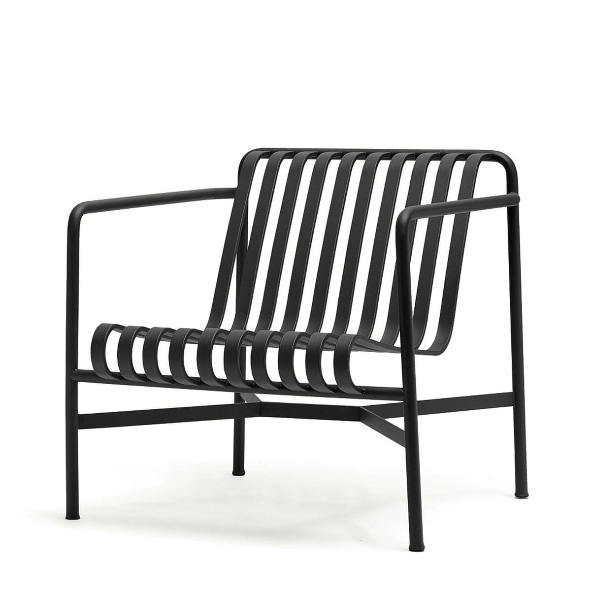 fauteuil de jardin noir