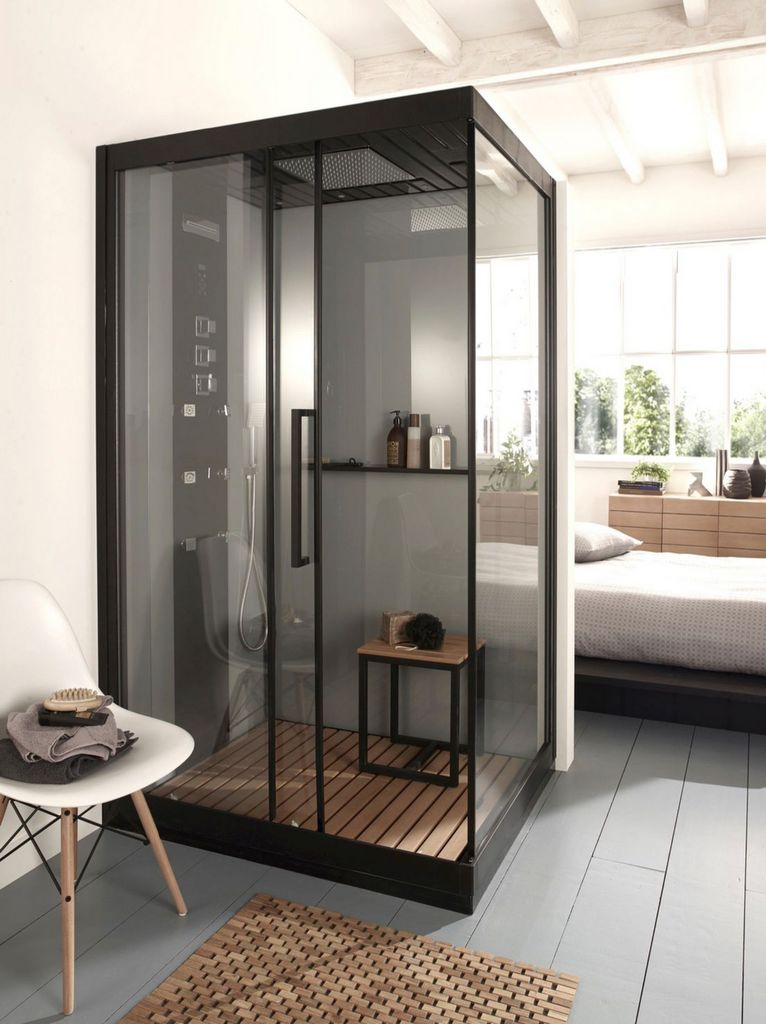 must have la paroi de douche verri re joli place. Black Bedroom Furniture Sets. Home Design Ideas