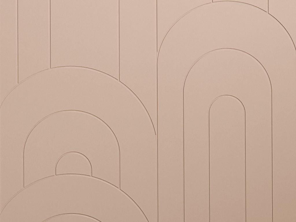 façade meuble rose arches
