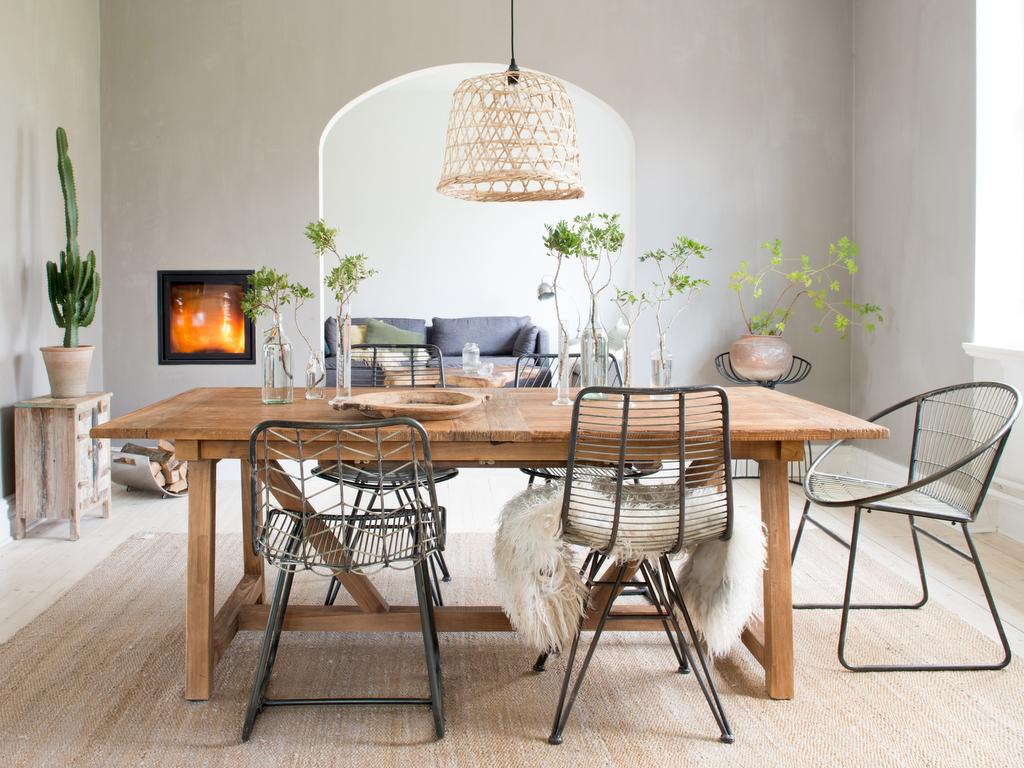 Des id es pour une d co de salle manger naturelle joli for Idees deco salle a manger