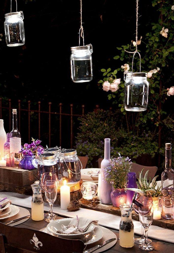 lanternes solaires jardin