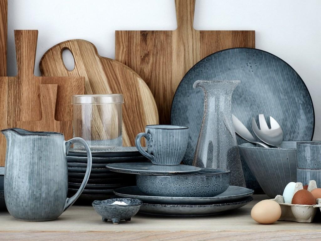 20 inspirations pour une cuisine bleu gris - Joli Place