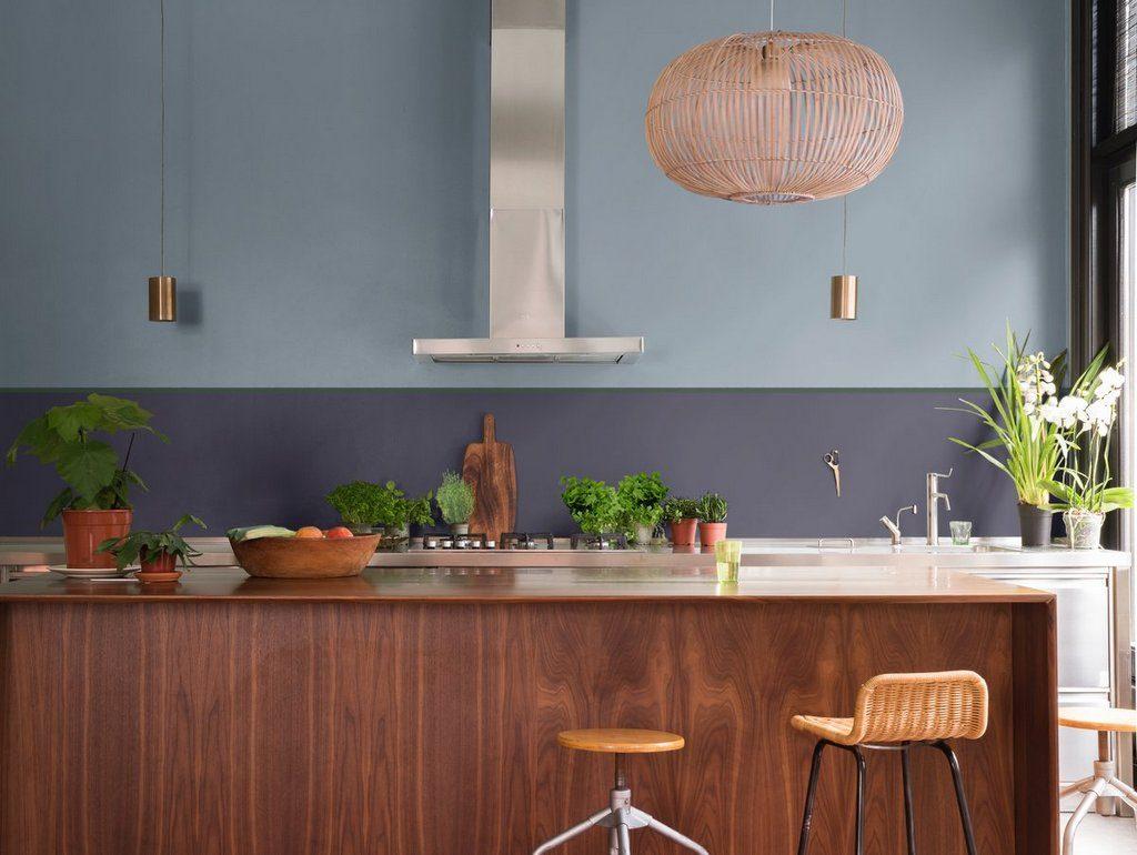 Inspirations pour une cuisine gris bleu - Joli Place