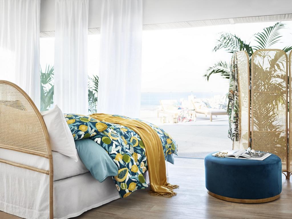 Chambre Bleu Canard Jaune : Déco jaune et bleu une maison couleur été joli place