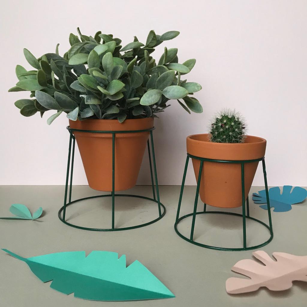 DIY : fabriquer un porte plante - Joli Place