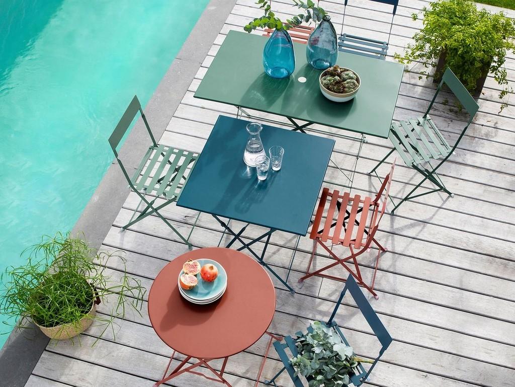 Déco salon de jardin en couleur - Joli Place