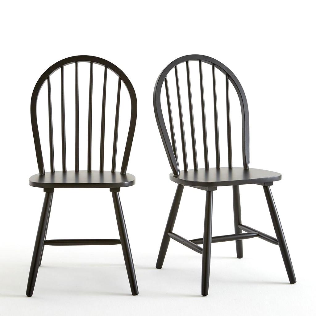 chaise de cuisine noire