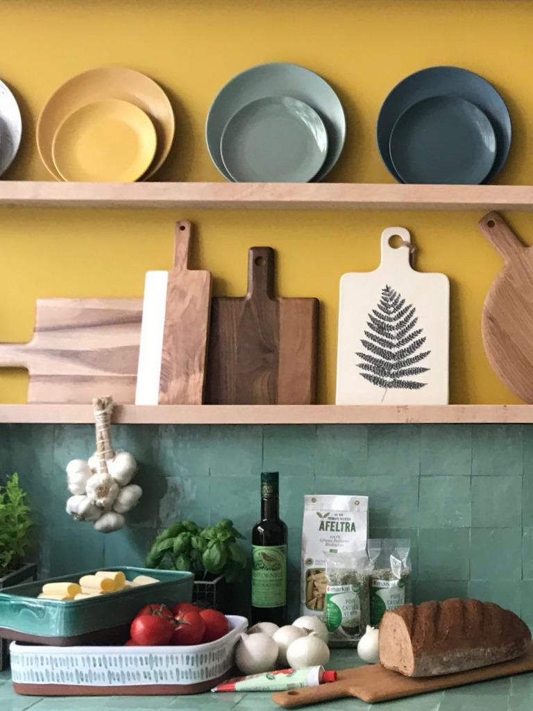 Une cuisine vert et jaune notre rep rage d co joli place - Deco cuisine vert ...