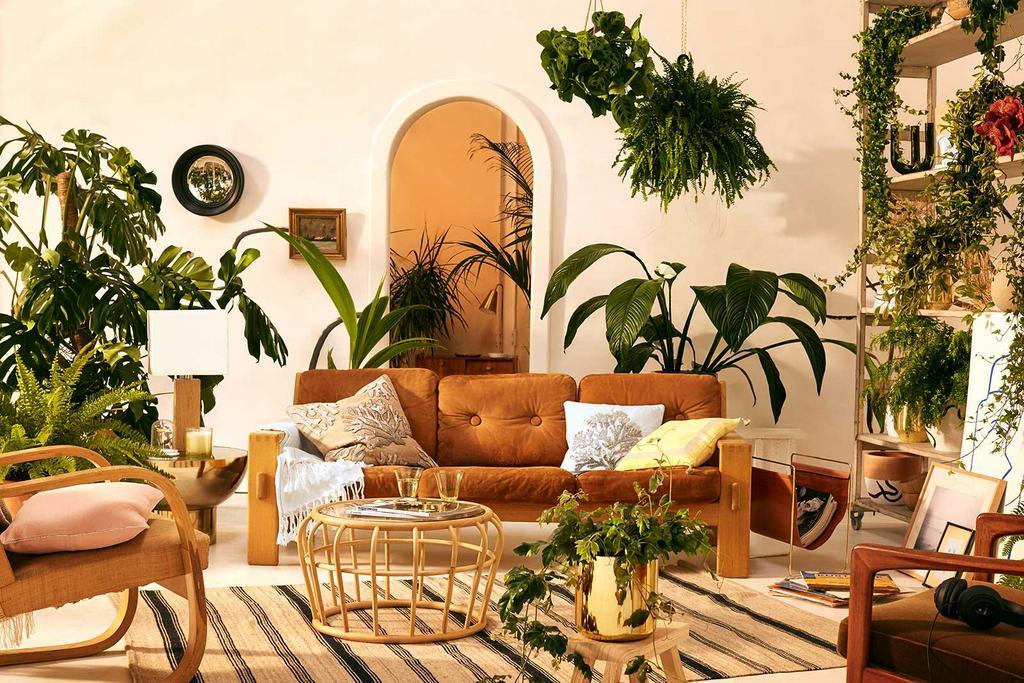 Un salon bohème chic aux couleurs du Sud - Joli Place