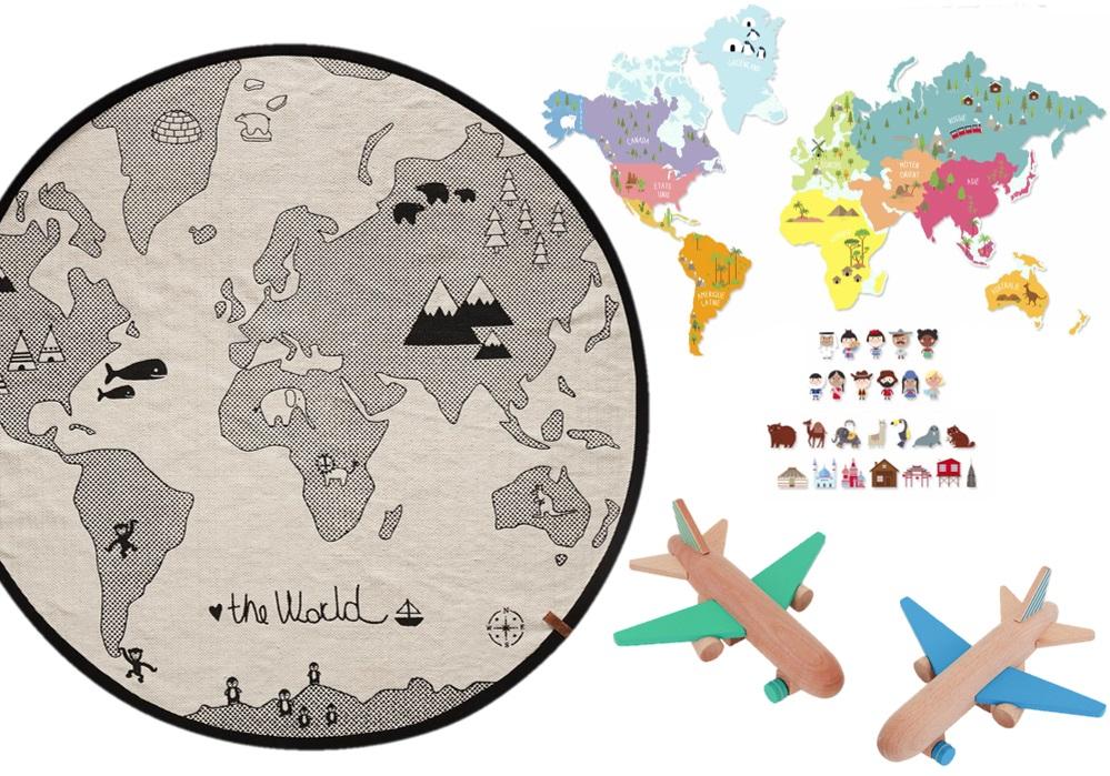 déco voyage autour du monde