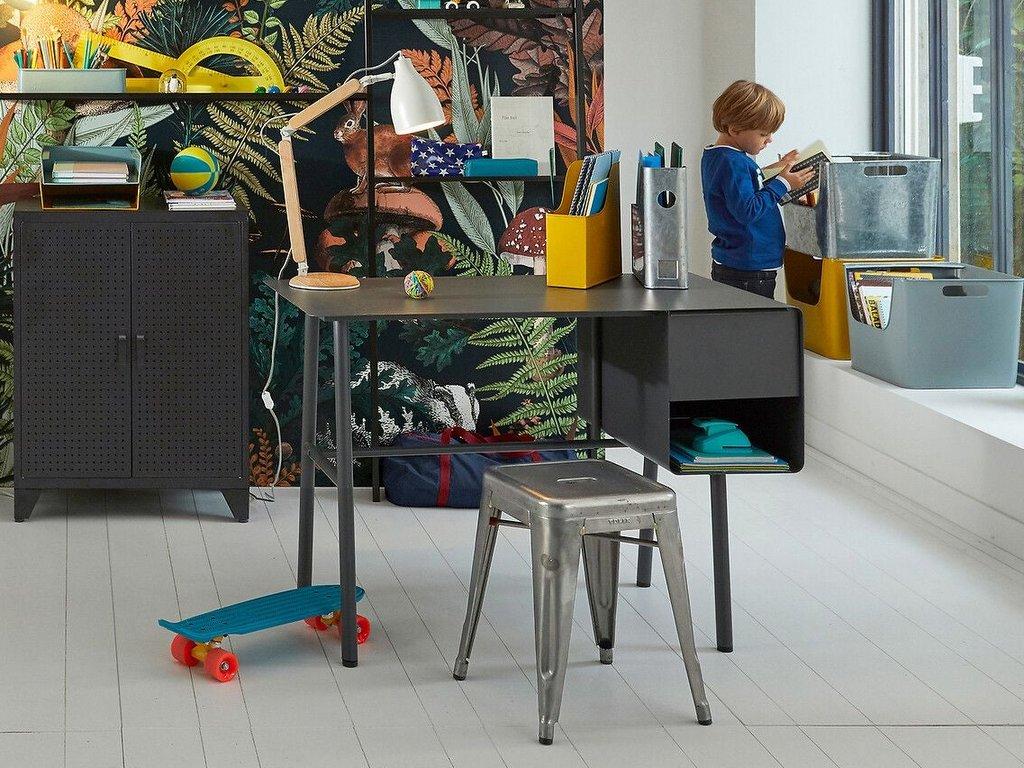 bureau enfant design en métal