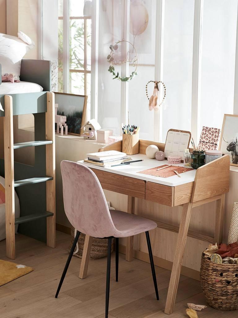 bureau enfant style vintage