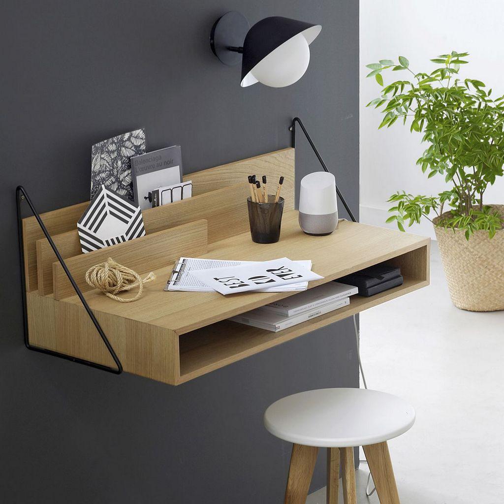 Idée Bureau D Angle petit bureau gain de place : 25 modèles pour votre