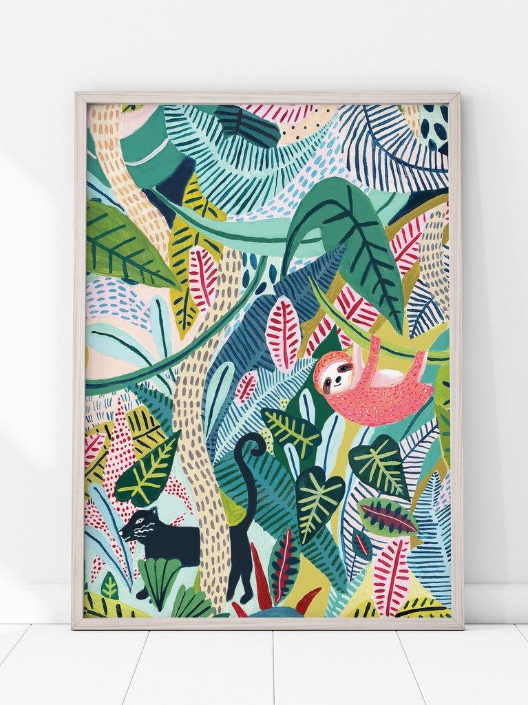 Les affiches jungle pour enfants de Amber Davenport - Joli Place