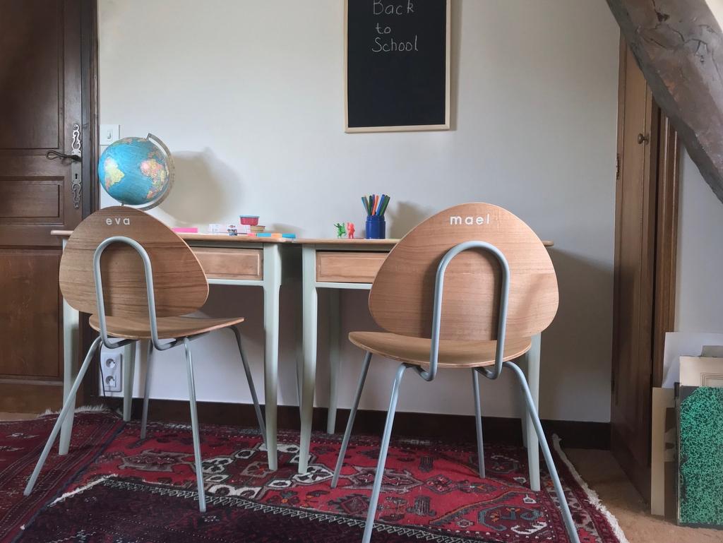 La chaise d'écolier danoise revisitée par Søstrene Grene - Joli Place