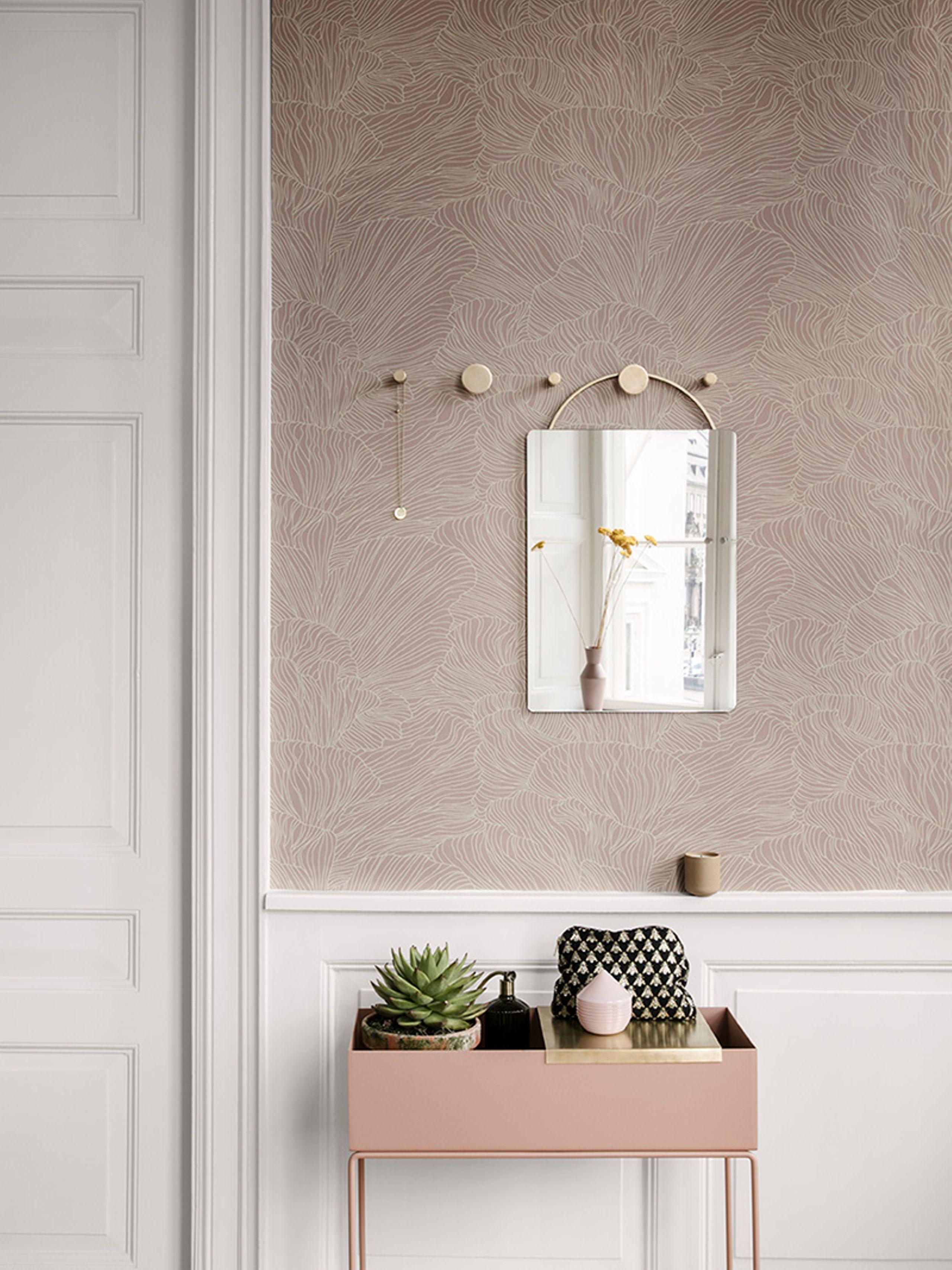 Une chambre beige et rose, un cocon poudré - Joli Place