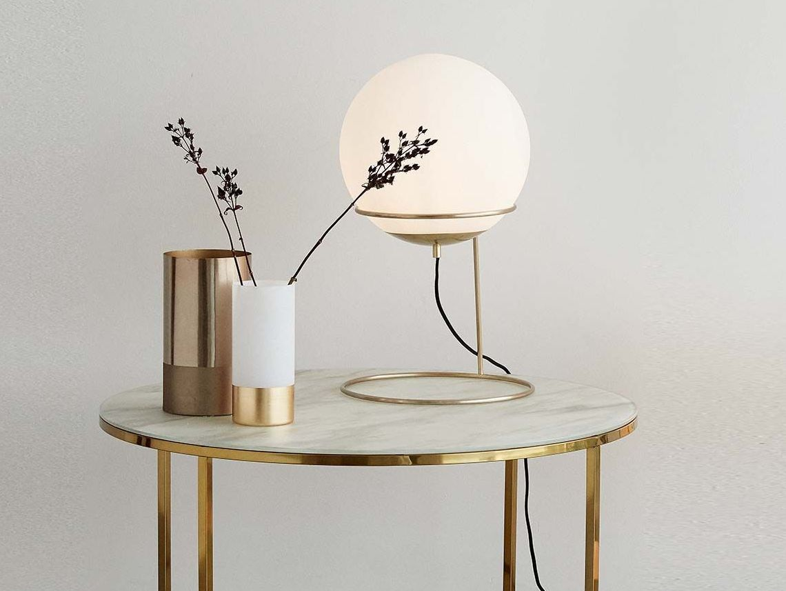Lampe laiton : in the mood for gold - Joli Place