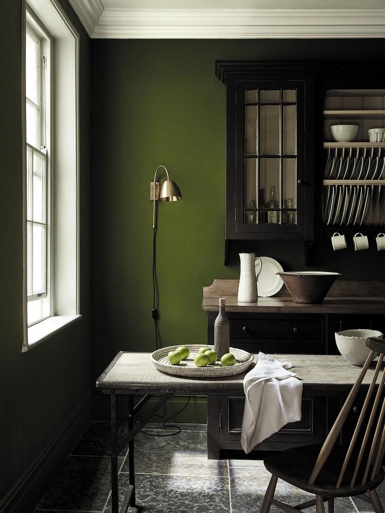 peinture verts historiques chez little greene joli place. Black Bedroom Furniture Sets. Home Design Ideas