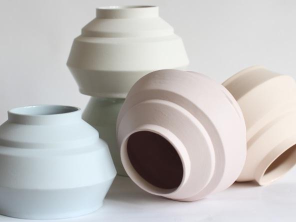 Les céramiques aux couleurs douces de Hella Duijs - Joli Place