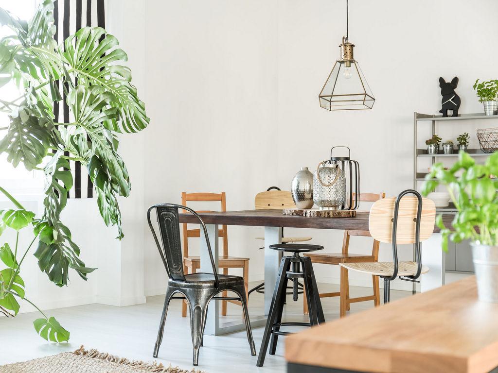 assortir des chaises d�pareill�es : nos id�es d�co - joli place