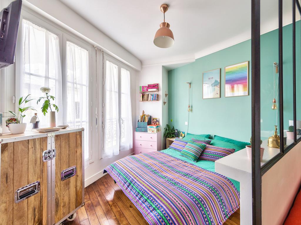 d co appartement t2 avant apr s chez barbara et quentin joli place. Black Bedroom Furniture Sets. Home Design Ideas