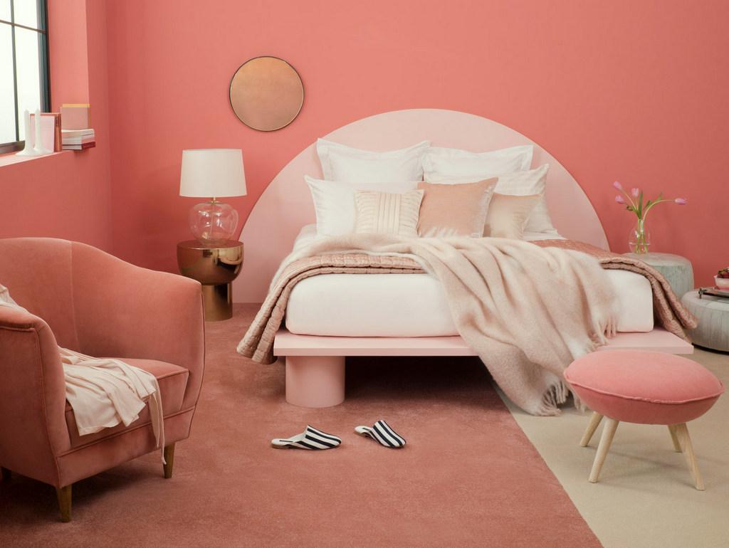Ces intérieurs qui osent le rose blush - Joli Place