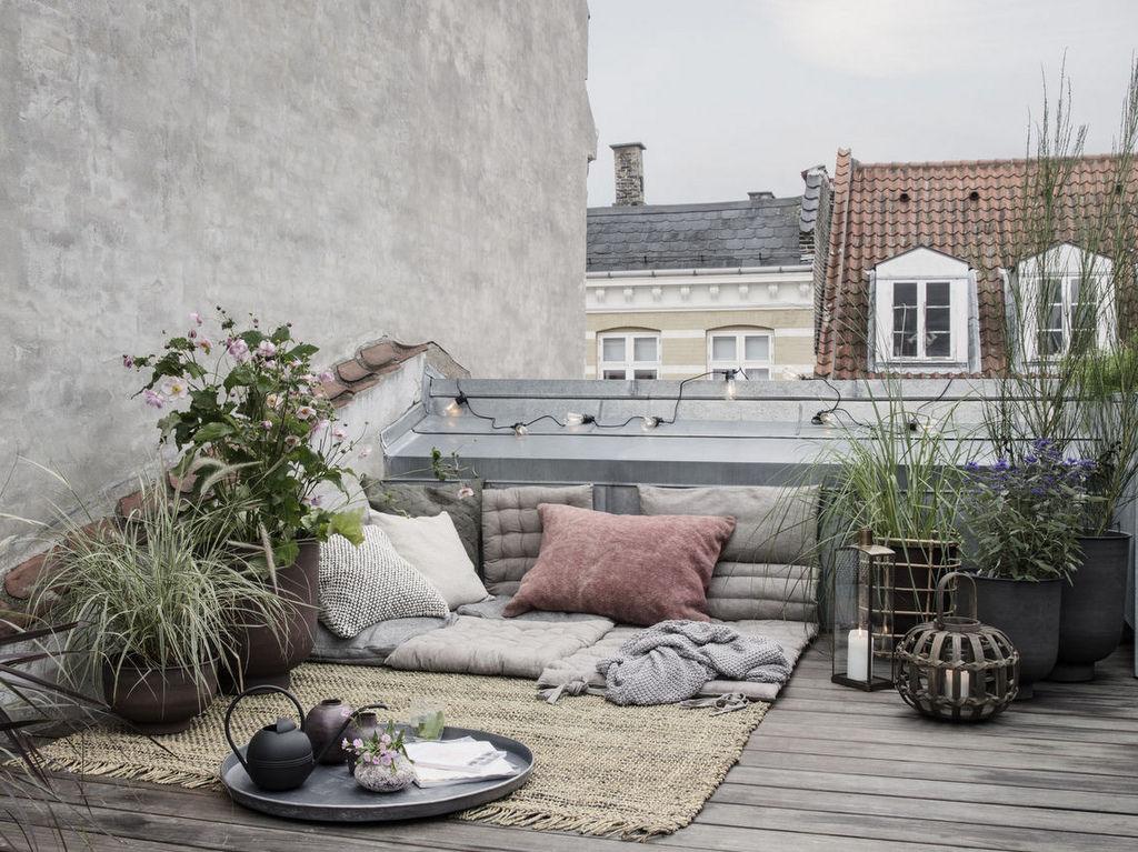 Une terrasse en mode automnal - Joli Place