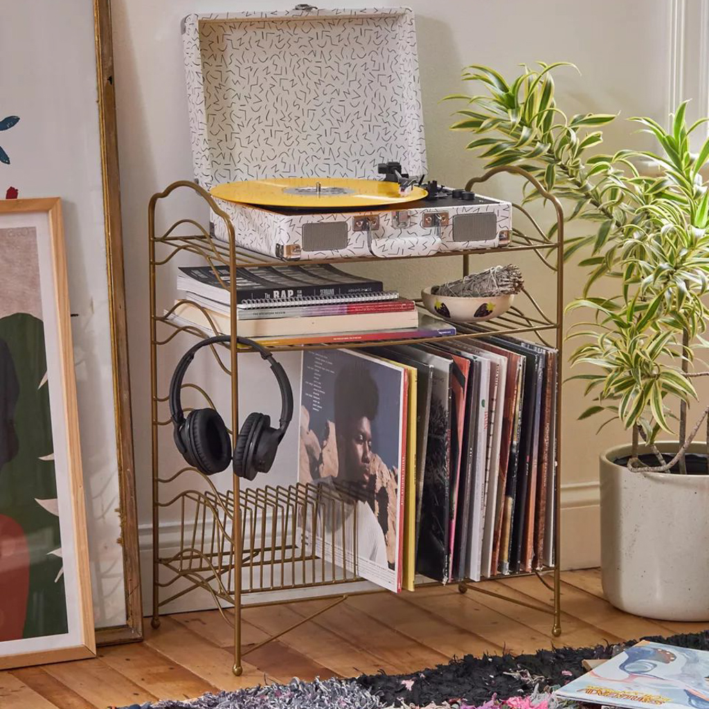 meuble de rangement pour vinyles
