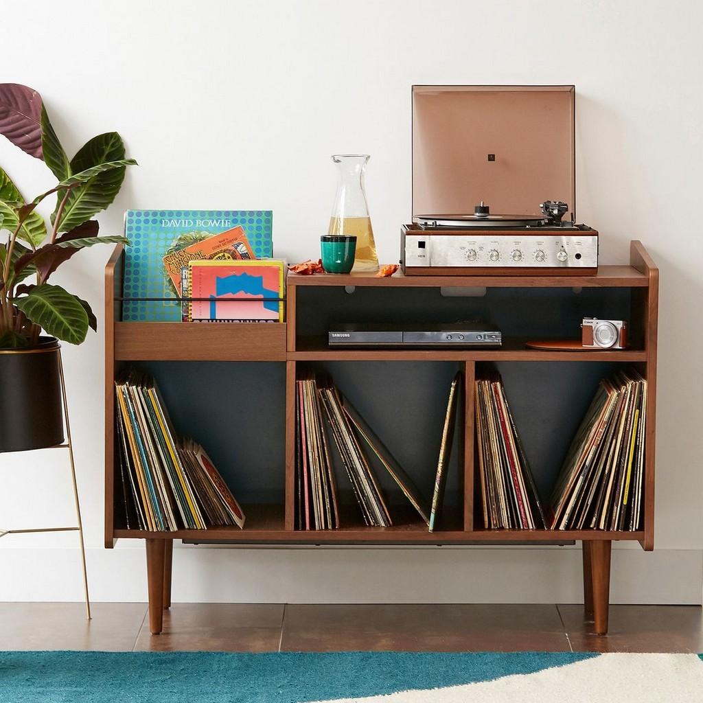 Rangement disques vinyle : des solutions déco - Joli Place