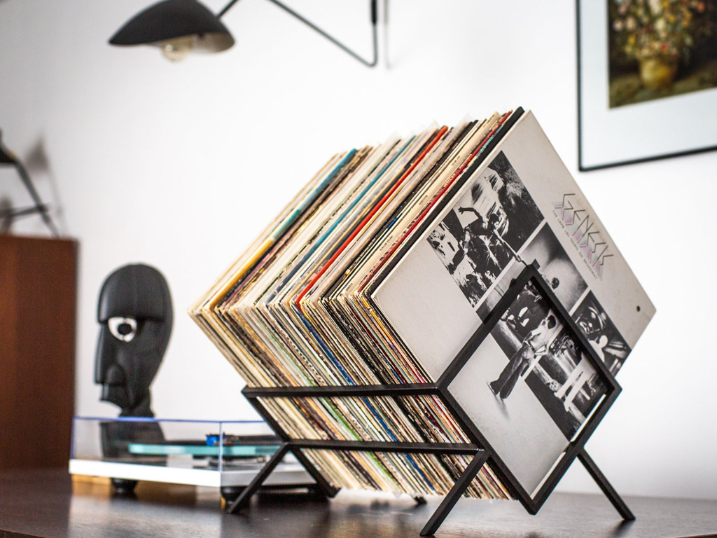 rangement pour vinyles