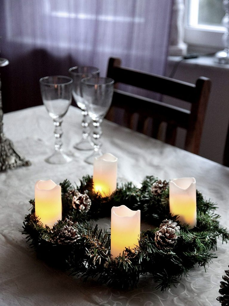 Bougie LED : la magie de Noël sans risques - Joli Place