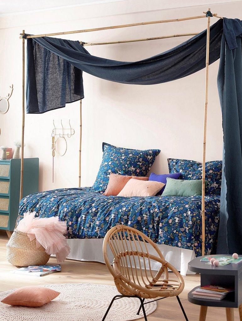 chambre enfant bleu marine nos inspirations d co joli place. Black Bedroom Furniture Sets. Home Design Ideas