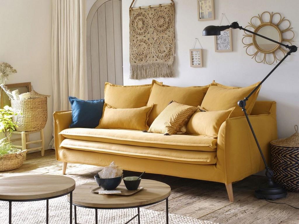 1 canapé, 3 styles déco - Joli Place