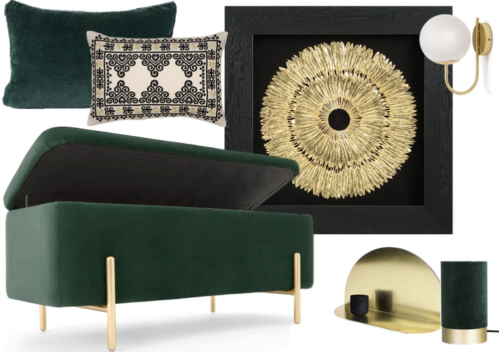 Chambre Vert Foncé : Chambre vert foncé des idées pour la décorer joli place