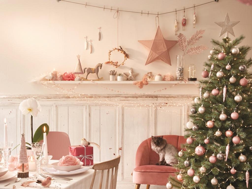 Une déco de Noël rose - Joli Place